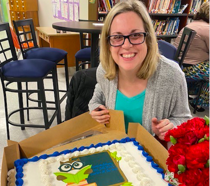 Mrs. Dill- 2019-2020 Teacher of the Year!