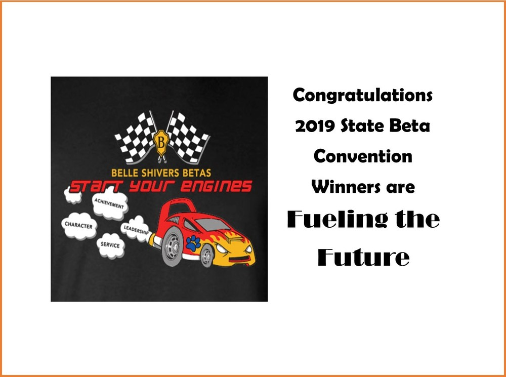 Congratulations 2019 State Beta Convention Winners