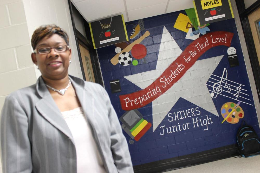 Loved former algebra teacher steps into principal role