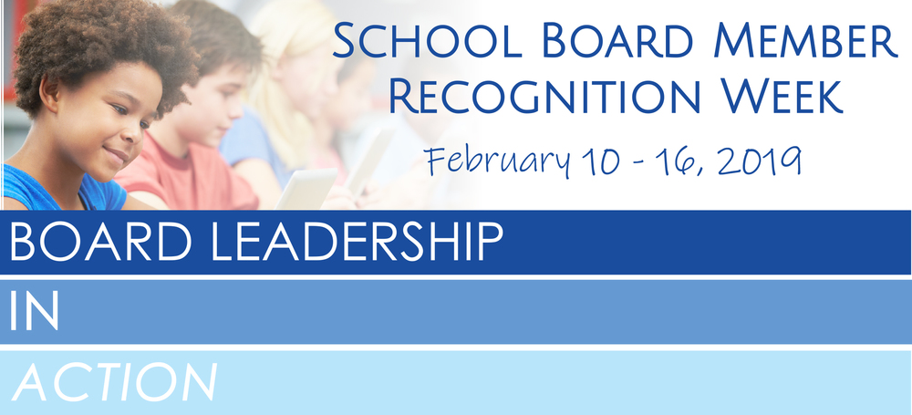 School Board Member Recognition Week