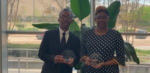 ASD Administrator of the year and Teacher of the Year.