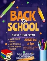 Back to School Event