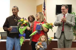 Aberdeen School Board recognizes teachers, administrator of the year