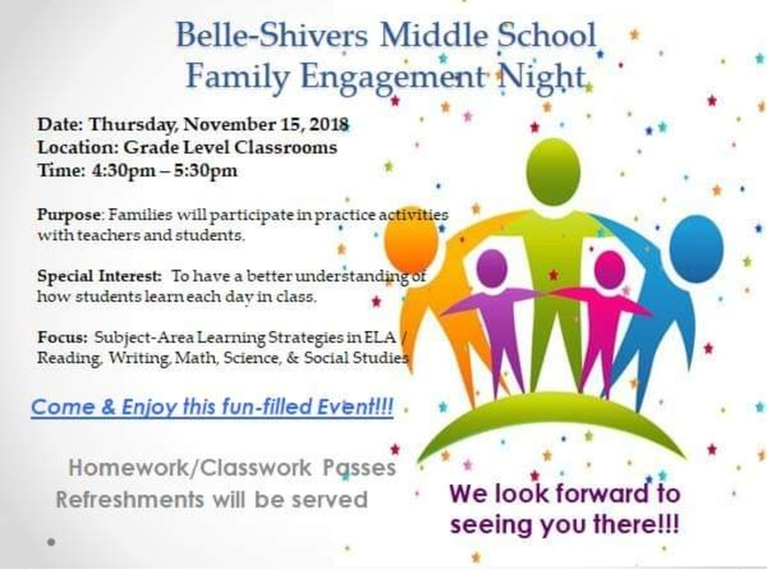 BSMS family night