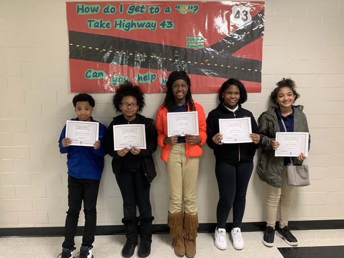 February Scholars of the Month